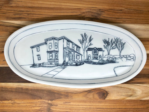 Home Large Oval