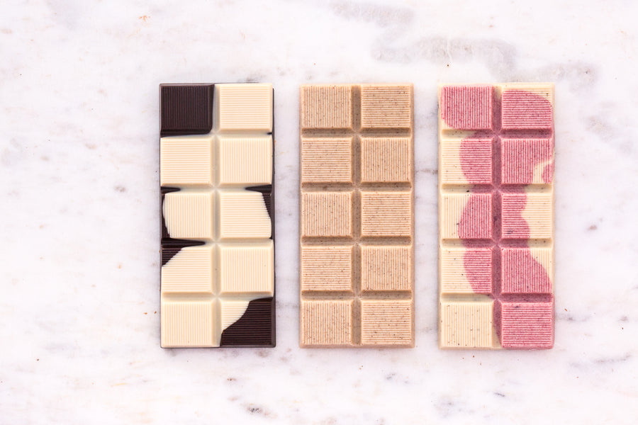 Be my Vegan Valentine Bar Trio