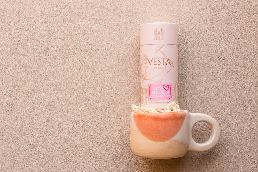 [ IN-STORE ONLY ] LOVE POTION Mini Hot Chocolate + FeFo Studio Mug