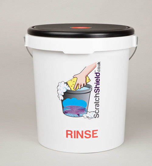 Rinse Bucket with Seat Lid