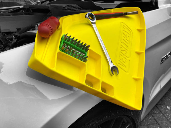 Versitray, flexible tool tray, with grip technology