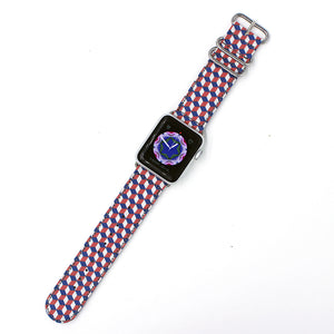 CUBE - RED/BLUE/WHITE for 38mm