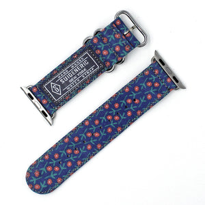FLOWER - NAVY for 38mm