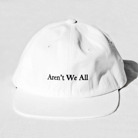 Aren't We All Baseball Cap - White