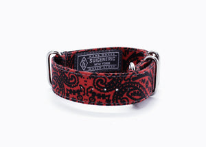 Paisley - Red/Black