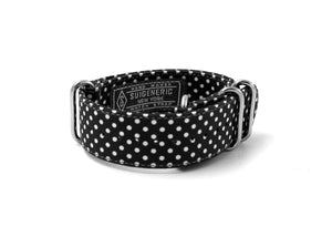 Polka Dot - Black/White
