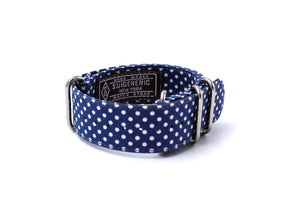 Polka Dot - Blue/White