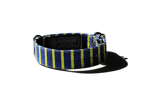 Rope Stripe - Blue/Yellow