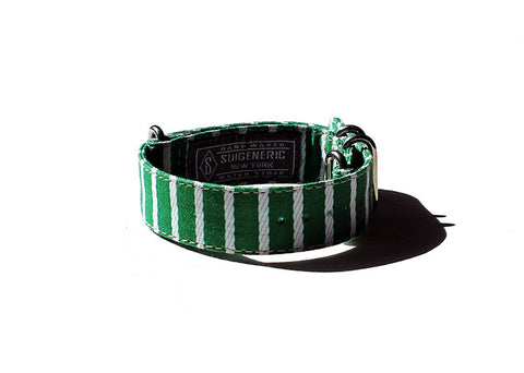 Rope Stripe - Green/White