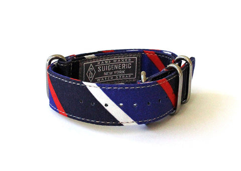 Boating Stripe - Navy/Blue/Red/White