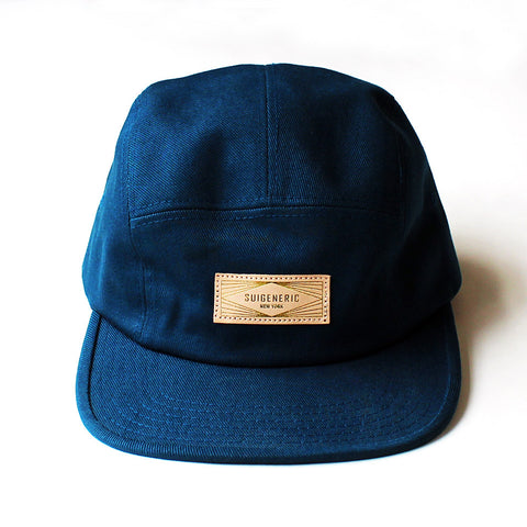 Solid 5 Panel Cap - Teal