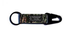 Tiger Camo EDC Keychain - Green/Brown/Black