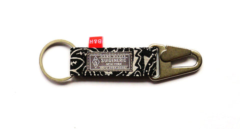 Bedwin & The Heartbreakers Tokyo Collaboration EDC  Keychain - Black w/ Silver Hardware