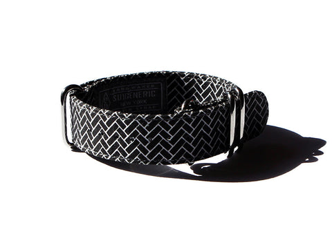 Herringbone - Black/White