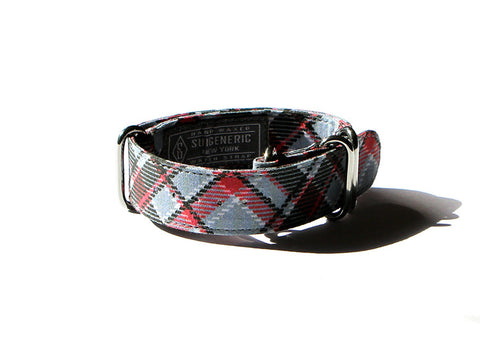 Tartan - Grey/Black/Red