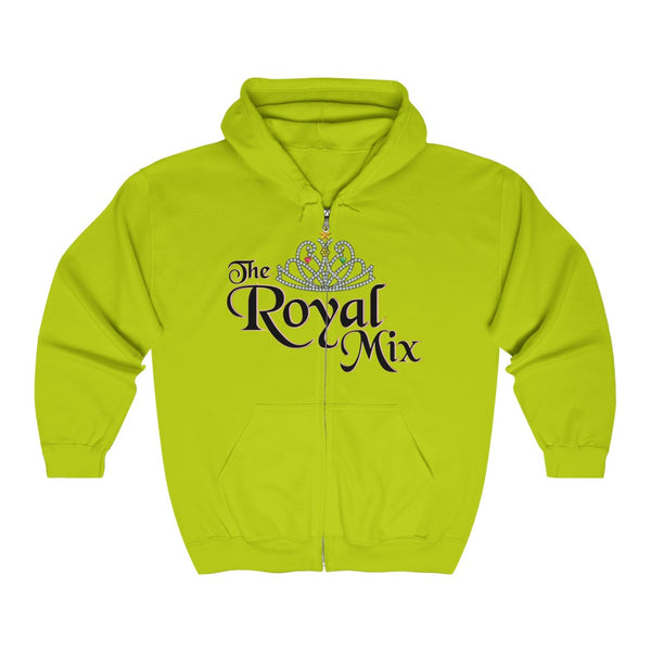 The Royal Mix Women's Adult Unisex Heavy Blend™ Full Zip Hooded Sweatshirt