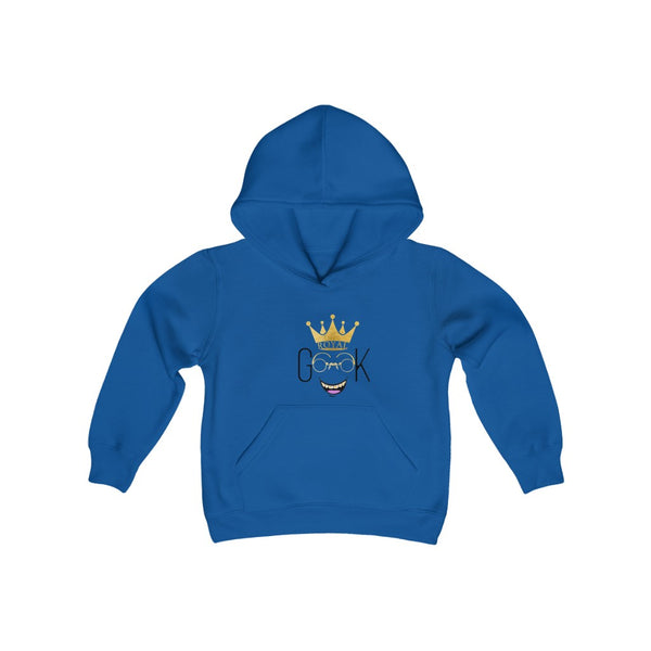 Royal Geek Boys Unisex Youth Heavy Blend Hooded Sweatshirt
