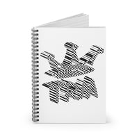 Reppin' TRM The Royal Mix  Unisex Spiral Notebook - Ruled Line