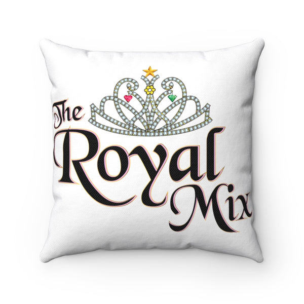The Royal Mix Princess Girls Spun Polyester Square Pillow
