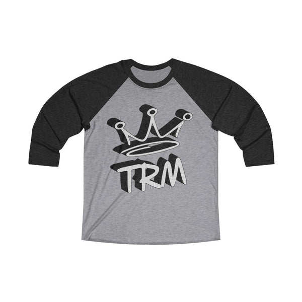 TRM The Royal Mix Adult Unisex Tri-Blend 3/4 Raglan Tee