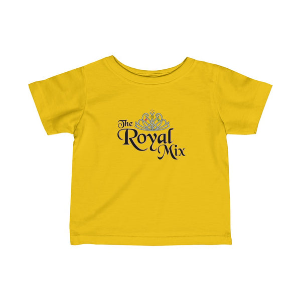 The Royal Mix Girls Princess Infant Fine Jersey Tee