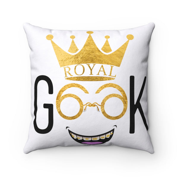 Royal Geek Boys Spun Polyester Square Pillow