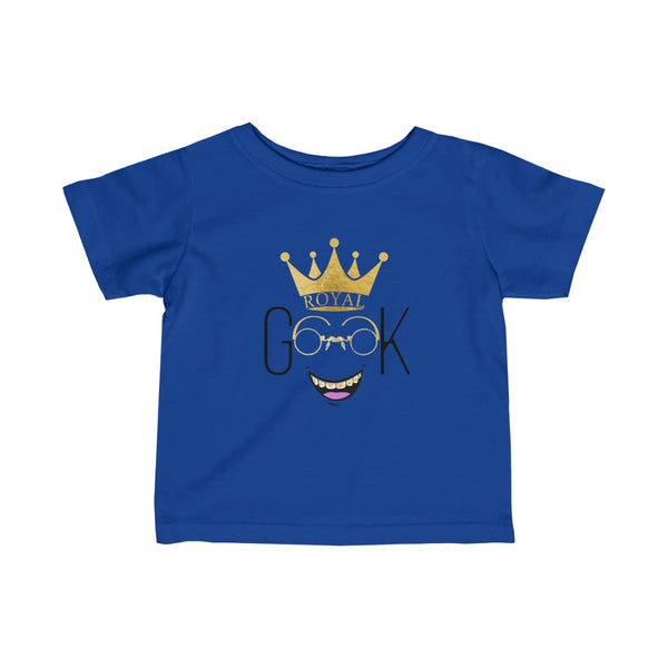 Royal Geek Boys Unisex Infant Fine Jersey Tee