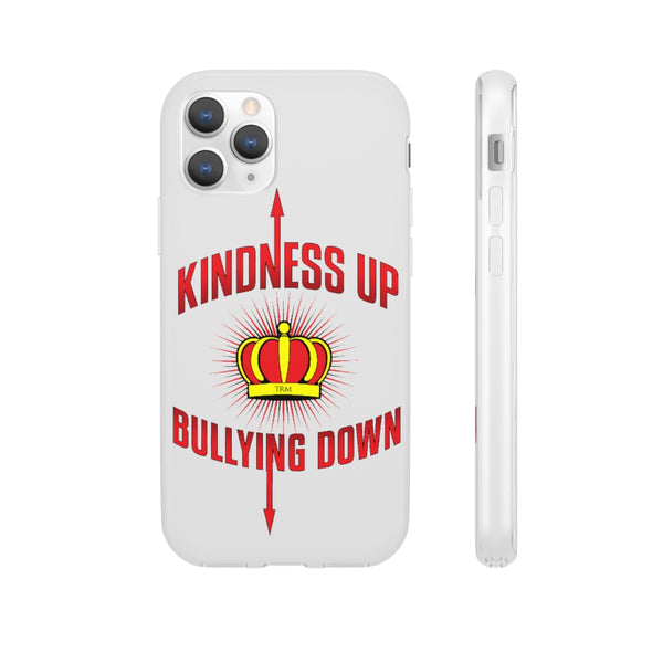 """Crown Me"" Kindness Up Bullying Down Unisex  Flexi Phone Cases"