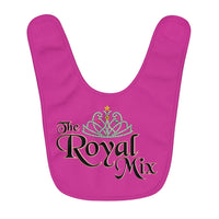 The Royal Mix Girls Princess Infant Fleece Baby Bib