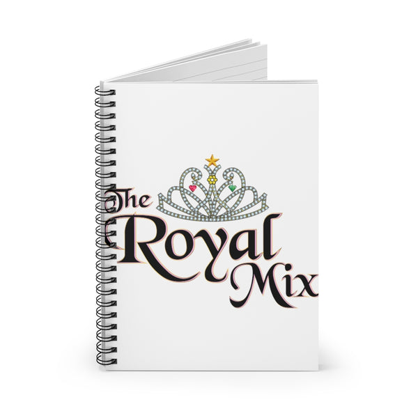 The Royal Mix Princess Girls Spiral Notebook - Ruled Line