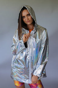 Rain Mac in Holographic Silver
