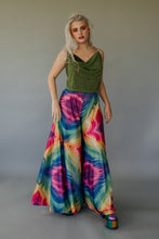 Load image into Gallery viewer, Super Wide Leg Bottoms in Rainbow Lurex