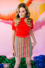 Load image into Gallery viewer, Skirt- Stripe - Skirt - Megan Crook