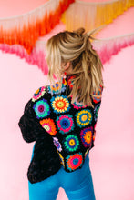 Load image into Gallery viewer, MIY Crochet Starburst Back Cardigan