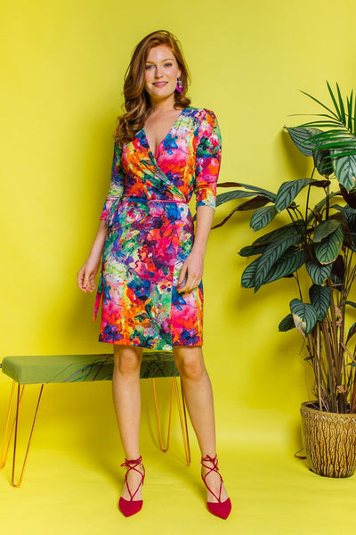 Jersey Wrap Dress - Dress - Megan Crook