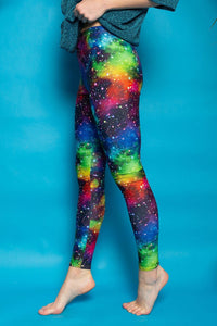 Leggings in Cosmic Print - Leggings - Megan Crook