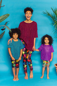 Lurex Oversize T-Shirt - KIDS. - Top - Megan Crook