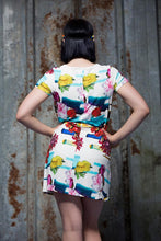 Load image into Gallery viewer, Swing Dress in Floral Digital Print Jersey - Dress - Megan Crook