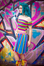 Load image into Gallery viewer, Rainbow Stripe Bandeau - Top - Megan Crook
