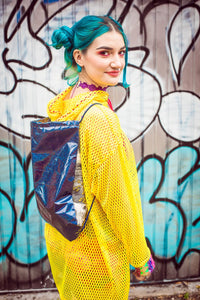 PE Bag in Midnight Rainbow - Bag - Megan Crook