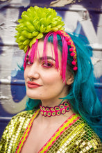 Load image into Gallery viewer, Fringe Headband with Flower - Accessories - Megan Crook