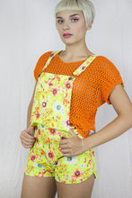 Load image into Gallery viewer, Knitted Mesh Top in Orange - Top - Megan Crook