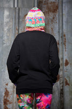 Load image into Gallery viewer, Fair Isle Hoodie in Black - Jumper - Megan Crook
