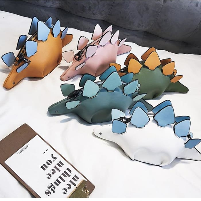 3D Funny Dinosaur Messenger Shoulder Crossbody Handbags [Iamfashion_Inc]