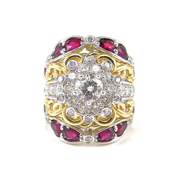 Diamond and Ruby Dream Ring