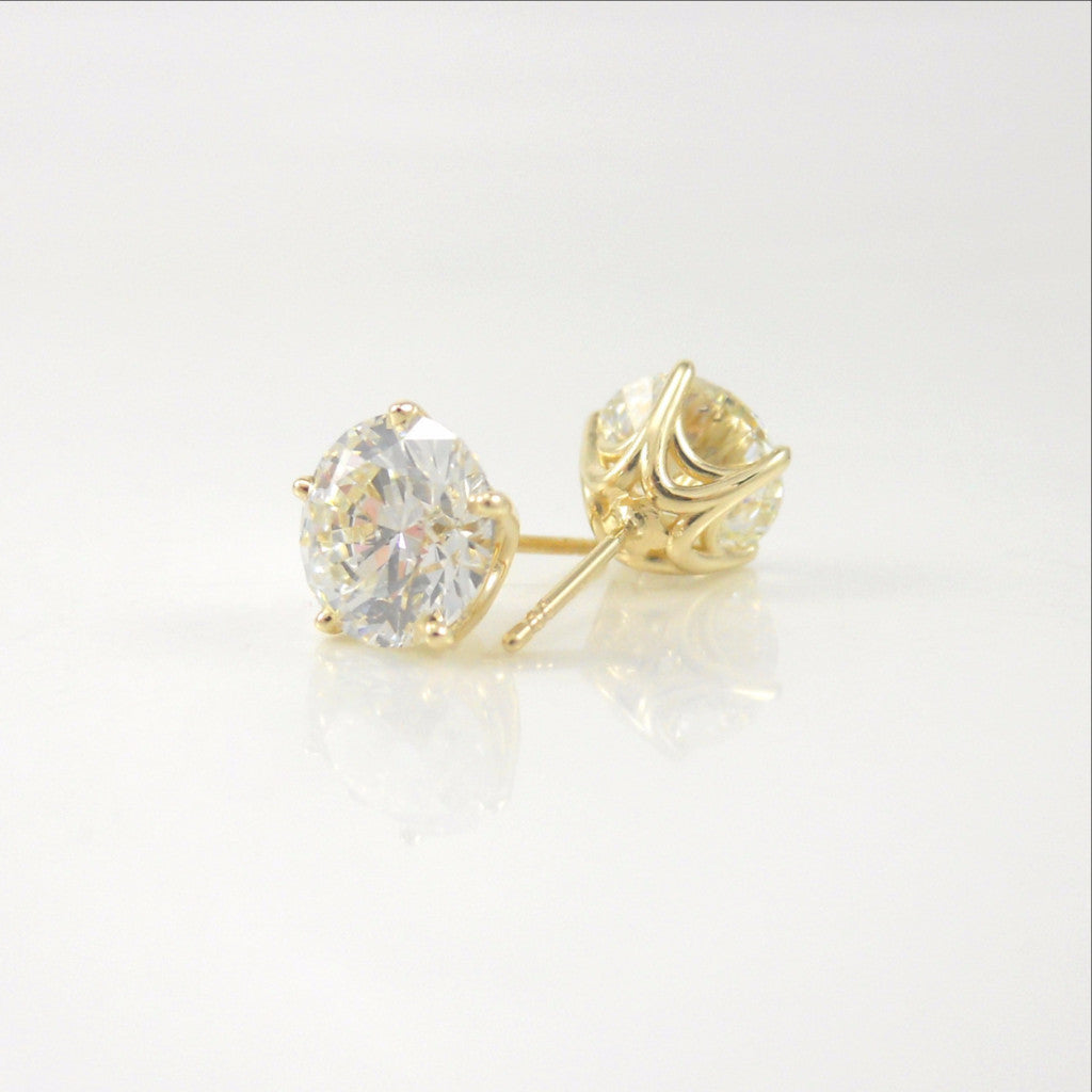 4.02ct Diamond Studs