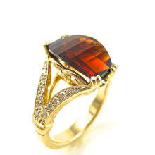 Load image into Gallery viewer, Garnet Ring