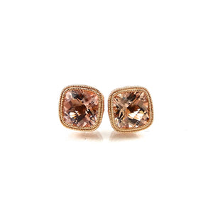Morganite Earrings
