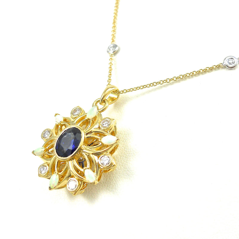 Flower of Life Wedding Pendant