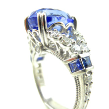 Load image into Gallery viewer, custom 9ct Ceylon Sapphire Ring